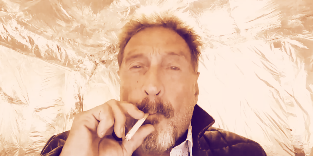 SEC Sues John McAfee for Shilling Crypto ICOs