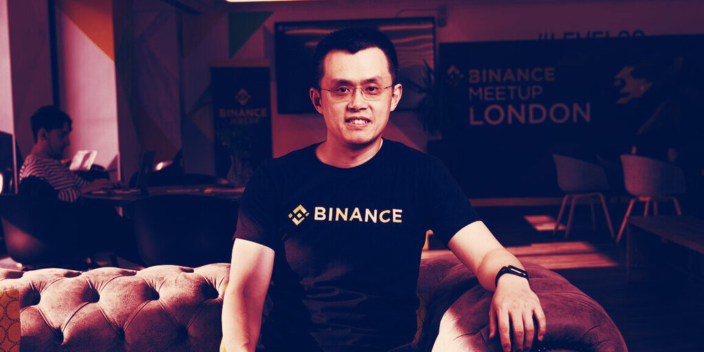 Binance CEO Calls For 'Clear Regulations' Amid Growing Pressure