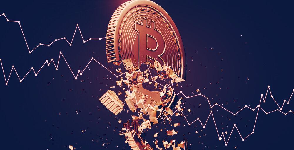 Crypto Market in Freefall: Bitcoin Falls 30%, Ethereum Falls 38%