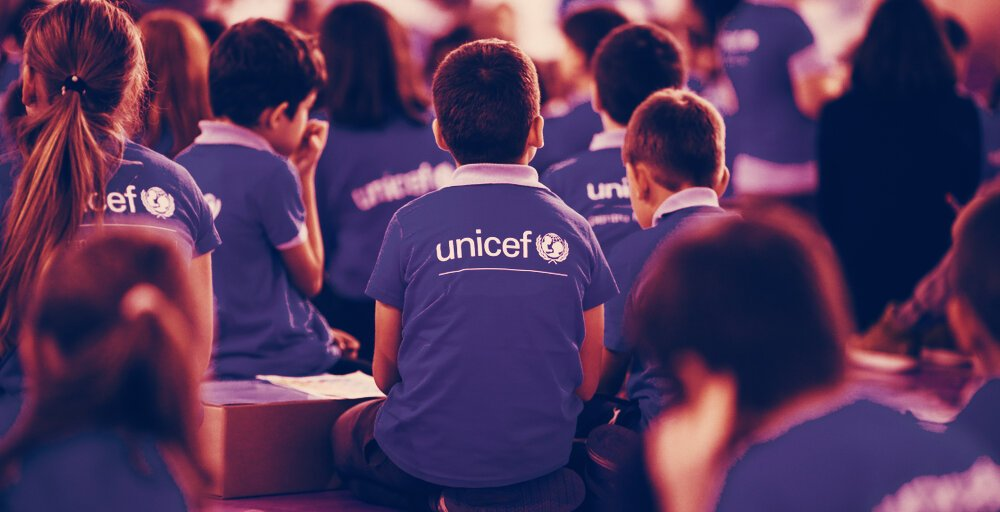 UNICEF CryptoFund Gets $1 Million in 'Institutional Bitcoin' Donation