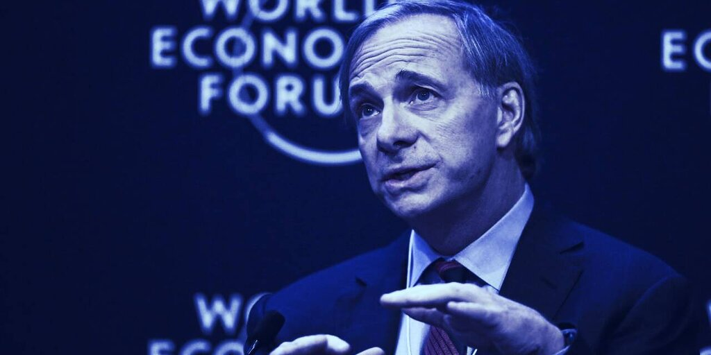 Governments Will 'Outlaw' Bitcoin, Says Bridgewater's Ray Dalio