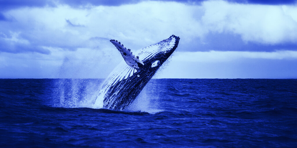 A Single Whale Just Moved $333 Million Bitcoin