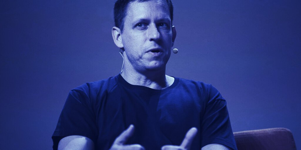 Peter Thiel: Bitcoin Could Be 'Chinese Financial Weapon'