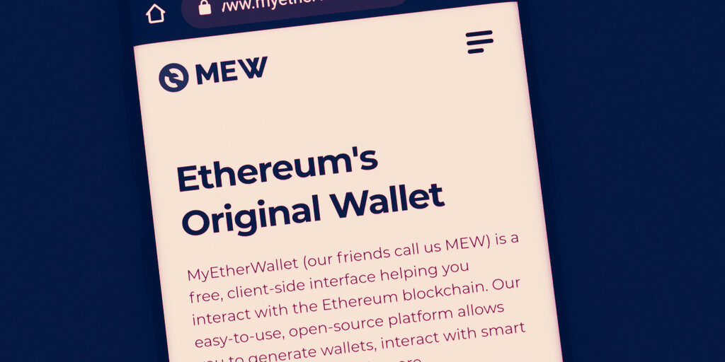 MyEtherWallet adds support for DeFi protocols Ren and Aave