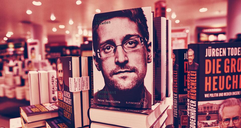 Edward Snowden got paid $35,000 to talk about Bitcoin