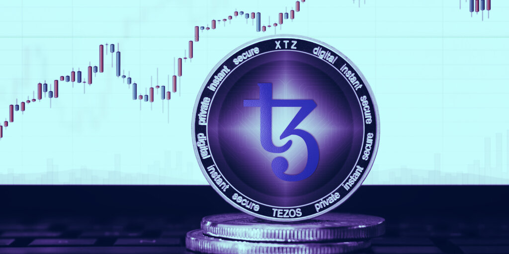 Tezos jumps 15% to hit highest price since early June