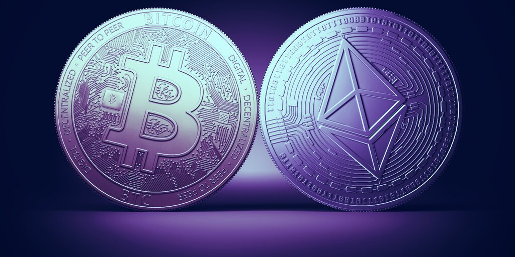 Bitcoin on Ethereum Falls by $120 Million in Just Two Weeks