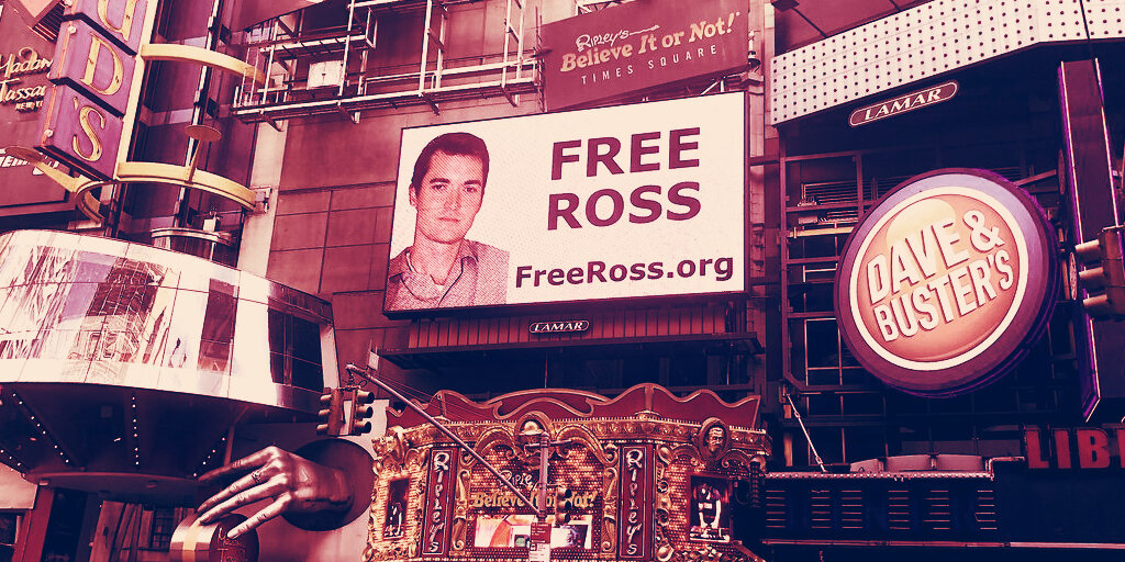 Billboard calling for Silk Road founder's release appears in Times Square - Decrypt