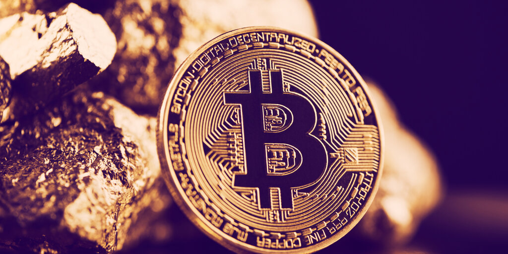 New index on Bloomberg tracks gold and Bitcoin together