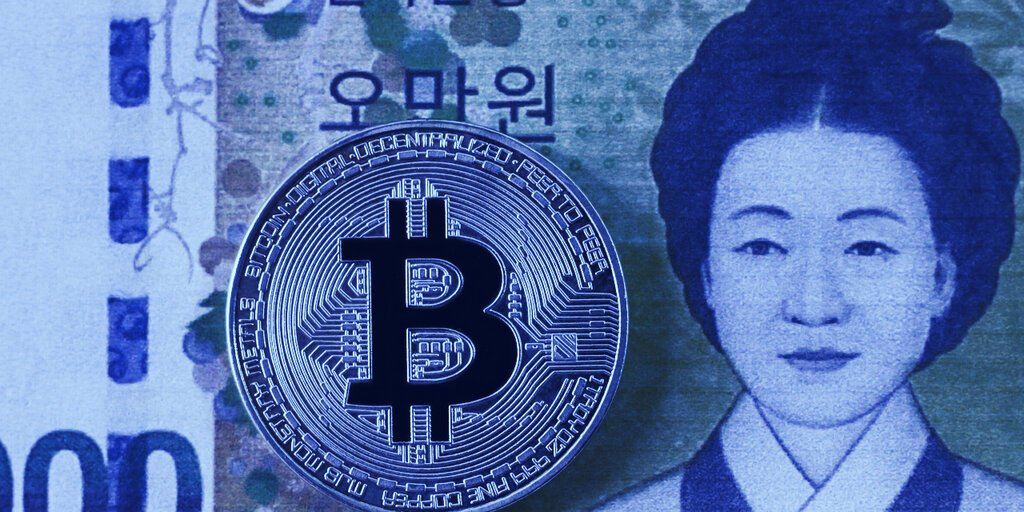 The Bitcoin Premium on Korean Exchanges Is Back - Decrypt