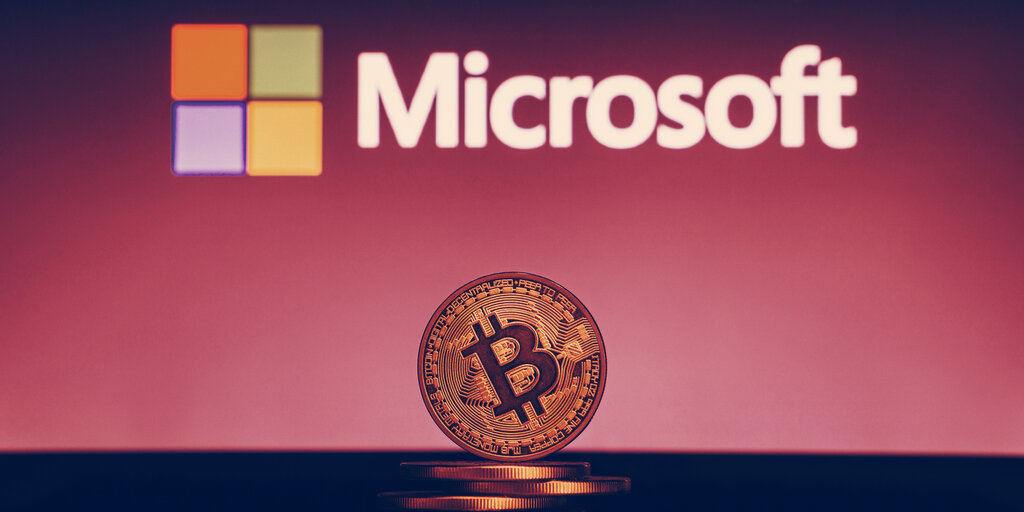 Microsoft builds identity system that runs on Bitcoin