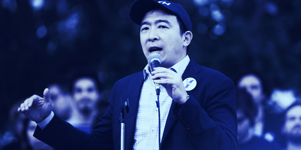 How crypto can help make Andrew Yang's 'data dividend' a reality