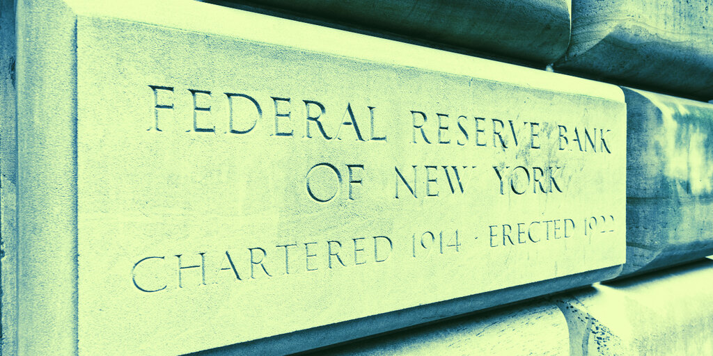 New York Fed: Bitcoin just 'another example of fiat money'