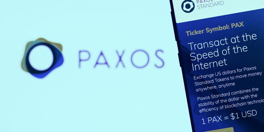Crypto Company Paxos Applies for National Bank Charter
