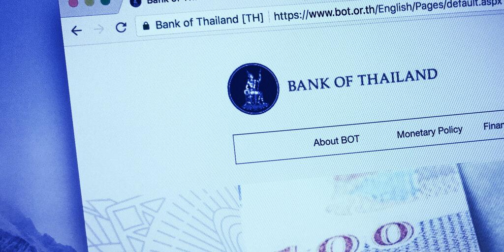 Thai Central Bank Outlines Plans for Digital Baht