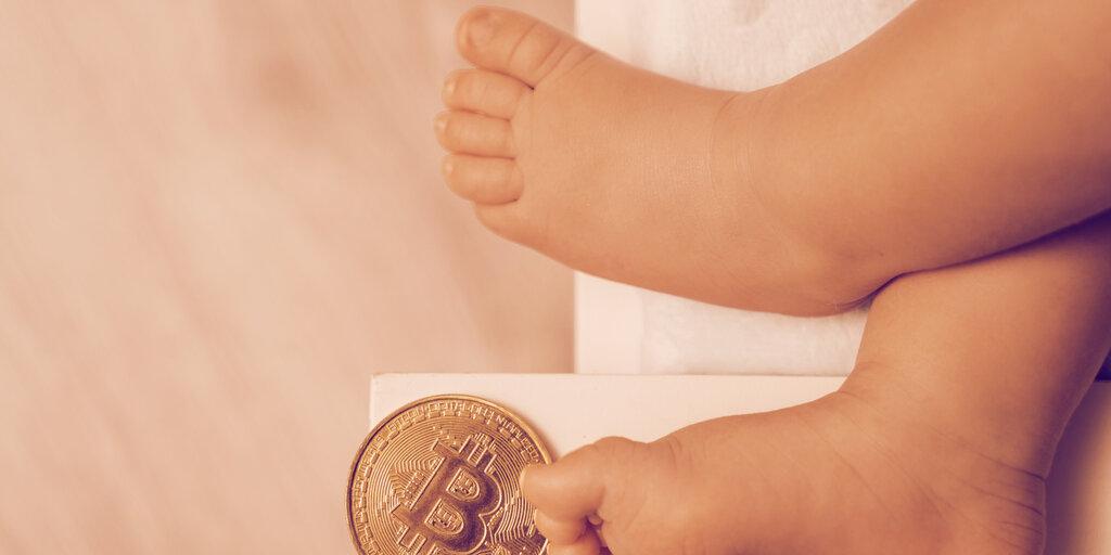 A man just logged the birth of his newborn on the Bitcoin blockchain