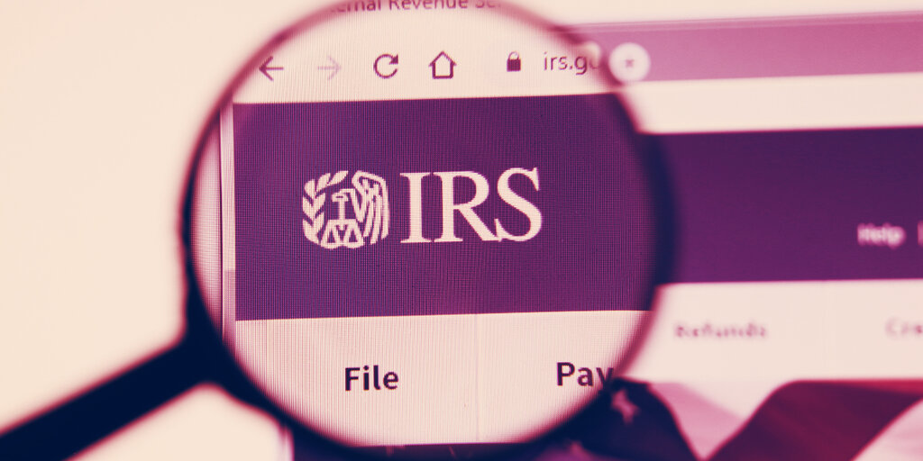 IRS puts cryptocurrency front and center of 2020 tax return