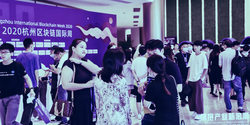 Here's what happened at China's first, post-lockdown, in-person blockchain conference