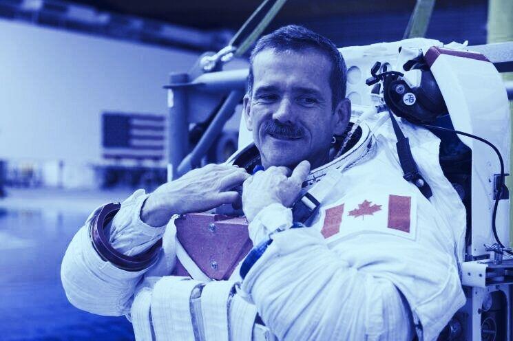 Astronaut Chris Hadfield on taking blockchain to space