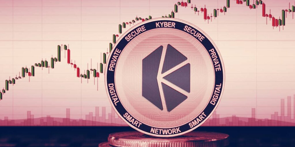 Kyber Network up 29% ahead of ETH staking rewards launch
