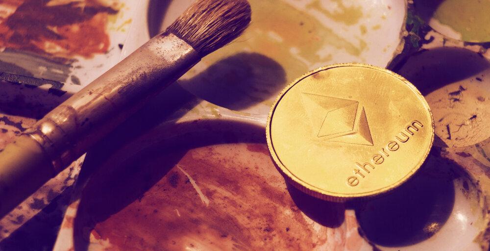 Vitalik Buterin creates digital art on Ethereum platform Cryptograph