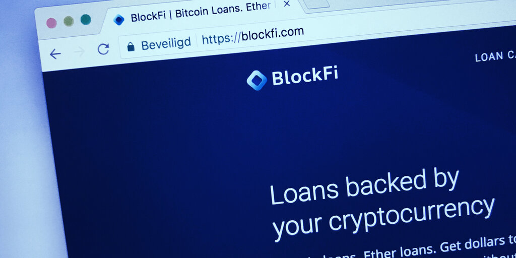 Bitcoin Lending Firm BlockFi Raises $350 Million in Series D Round