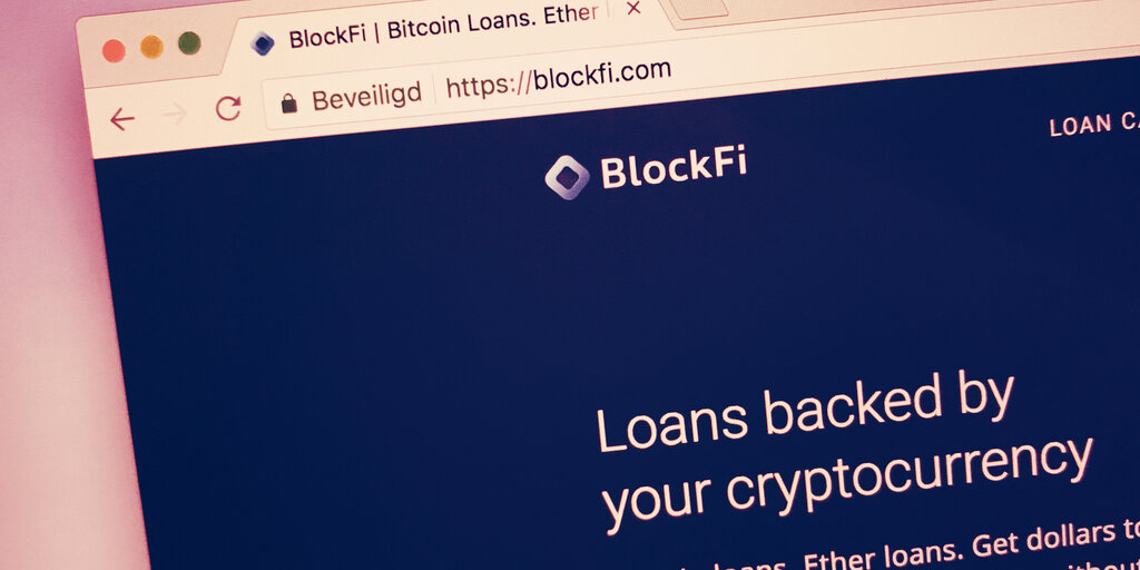 Want to Start Earning Interest on Bitcoin Through BlockFi? You Can't