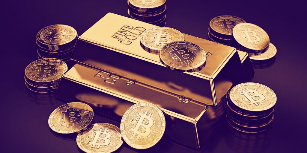 Gold price breaks records while Bitcoin refuses to budge