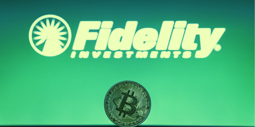 New Bitcoin Index Fund the Next Step for Fidelity