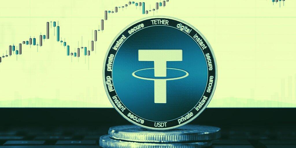 Tether's market cap breaks $12 billion for the first time