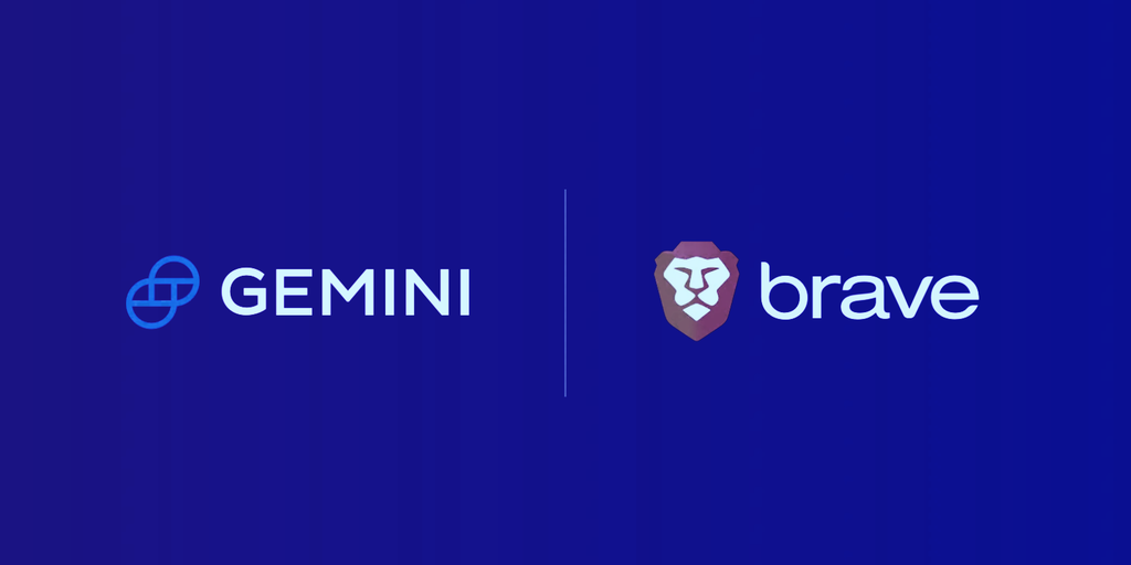 Gemini Trading Widget Added to Popular Privacy Browser Brave - Decrypt
