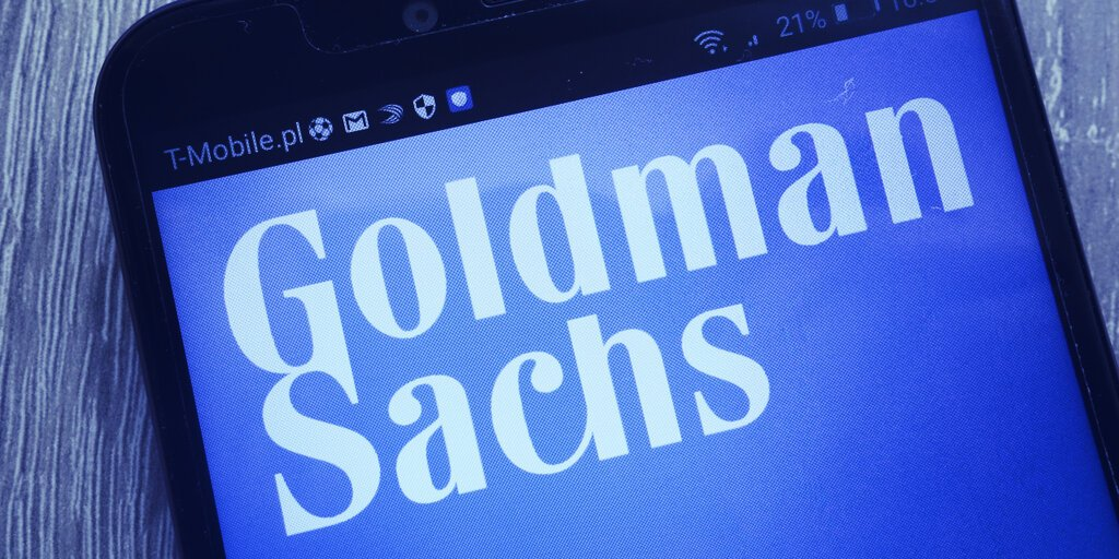 Goldman Sachs Files for DeFi ETF Tied to Public Companies