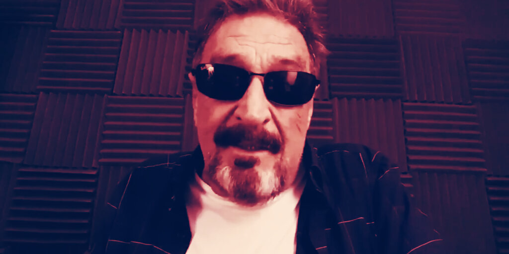 John McAfee ghosts his own privacy-first cryptocurrency project