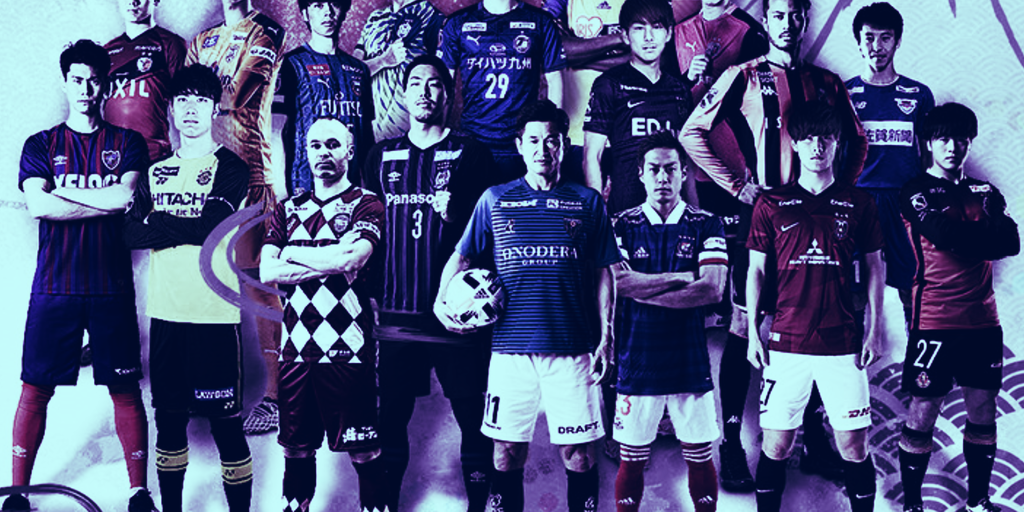 Ethereum-based soccer game scores deal with Japan's J.League