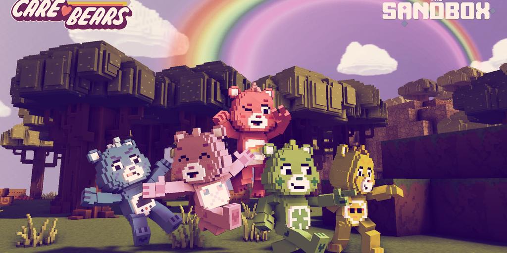 Care Bears Go Crypto in The Sandbox Blockchain Game