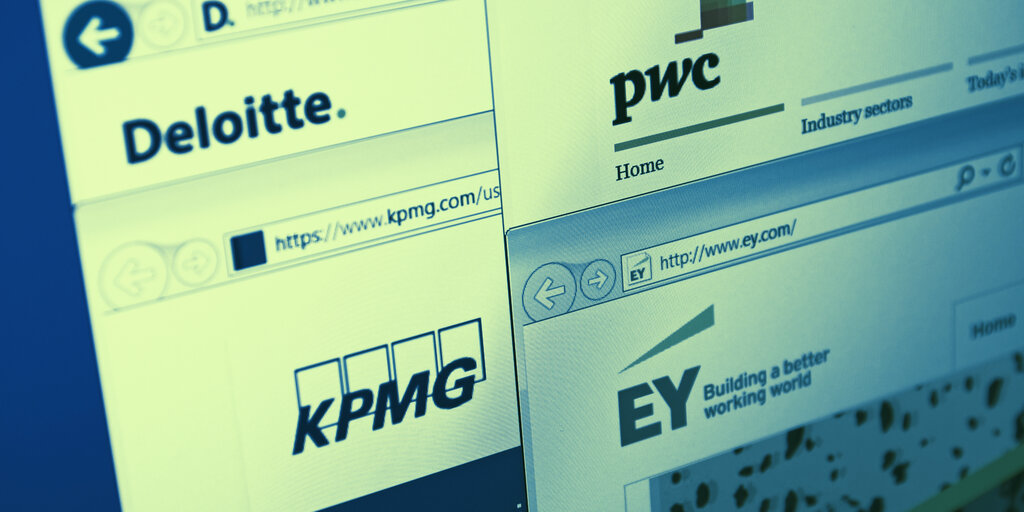 Inside KMPG, Deloitte, EY and PwC's Plans for Blockchain and Crypto