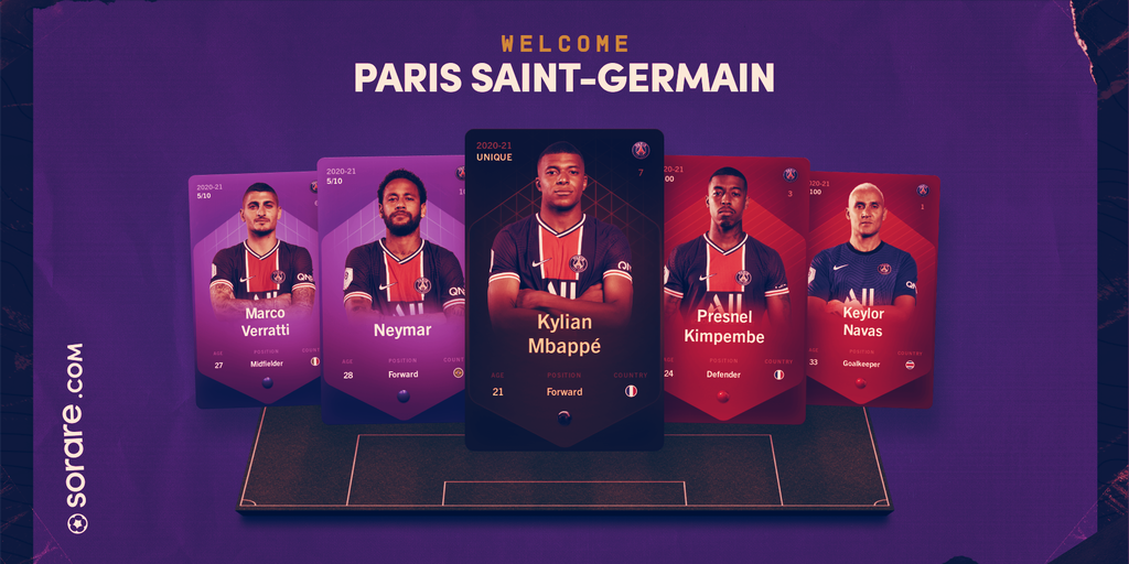 PSG Football Club Joins Sorare as Blockchain Game Hits US