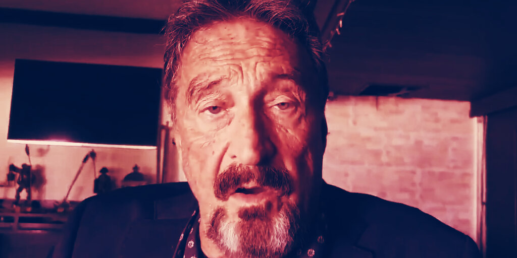 John McAfee Was Playing With Fire—and He Knew it