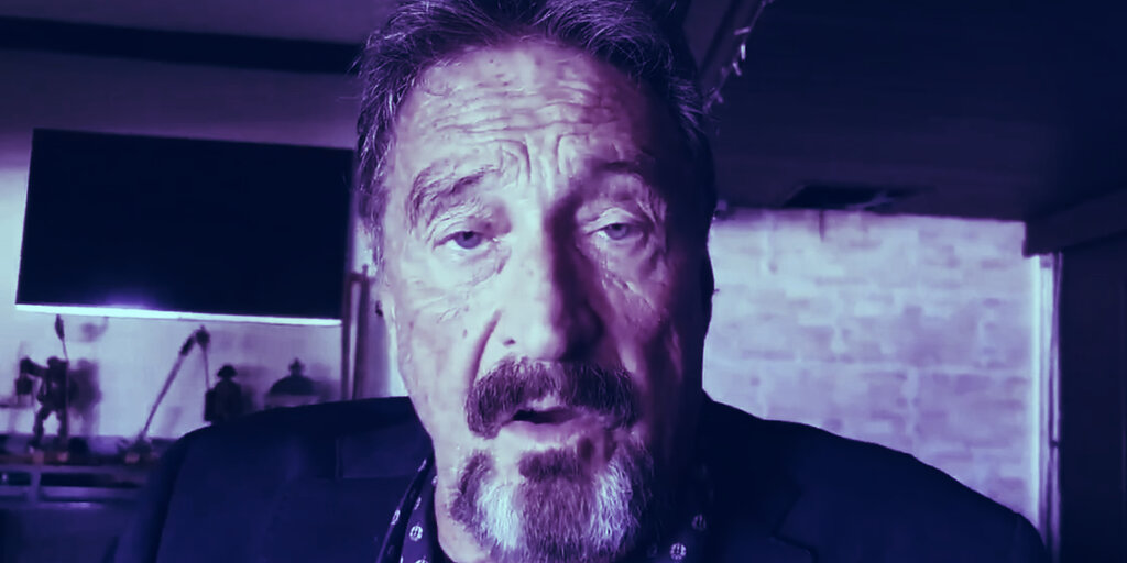 Tech Millionaire John McAfee Indicted on Fraud, Money Laundering Charges
