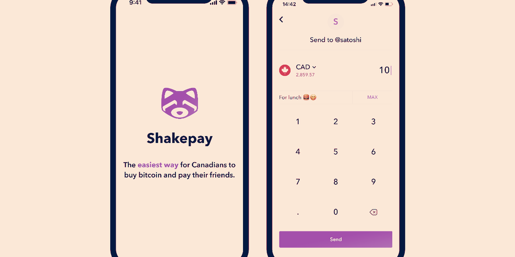 A CashApp for Canada: Bitcoin App ShakePay Adds P2P Payments