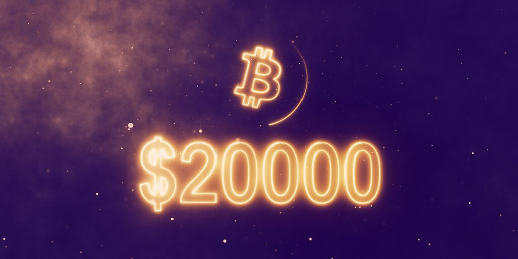 Bitcoin Price Smashes Through $20,000 as Bull Run Gets Underway