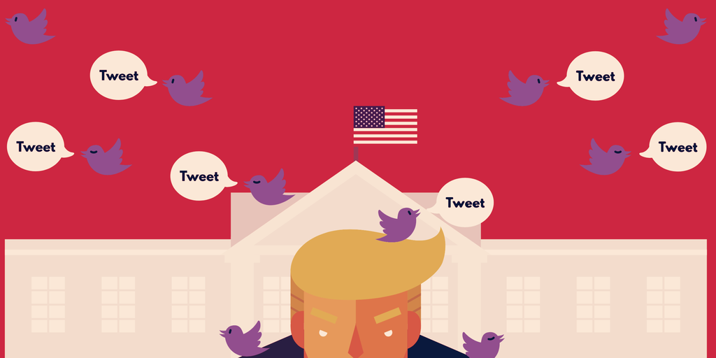 Twitter Labels Trump Tweet as Misleading on Election Day