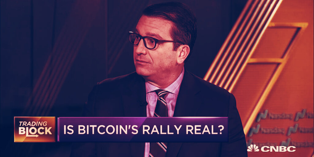 The CNBC Bitcoin Curse: Why Some Traders Are Nervous Again