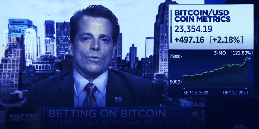 Scaramucci's Hedge Fund Buys $25 Million of Bitcoin, Cites Michael Saylor as Influence