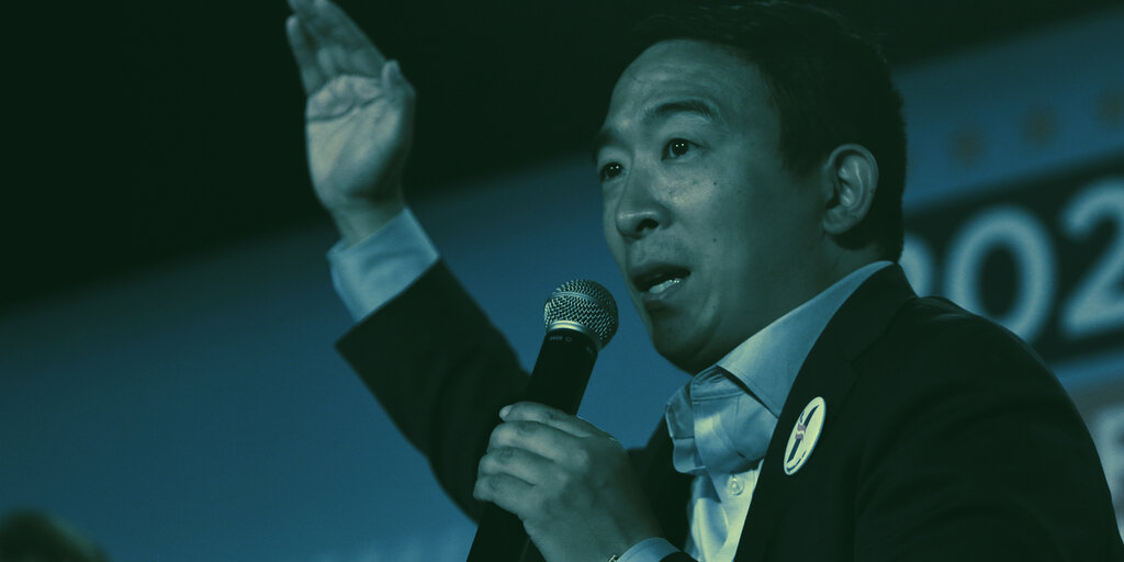 'Crypto Candidate' Andrew Yang Files Paperwork to Run for NYC Mayor