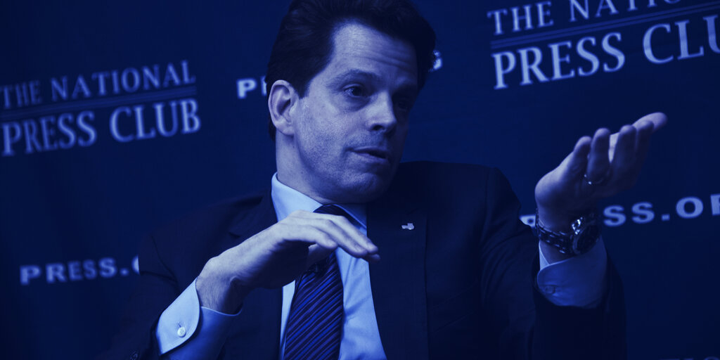 Anthony Scaramucci's $9.3 Billion Fund Registers for Bitcoin Investment