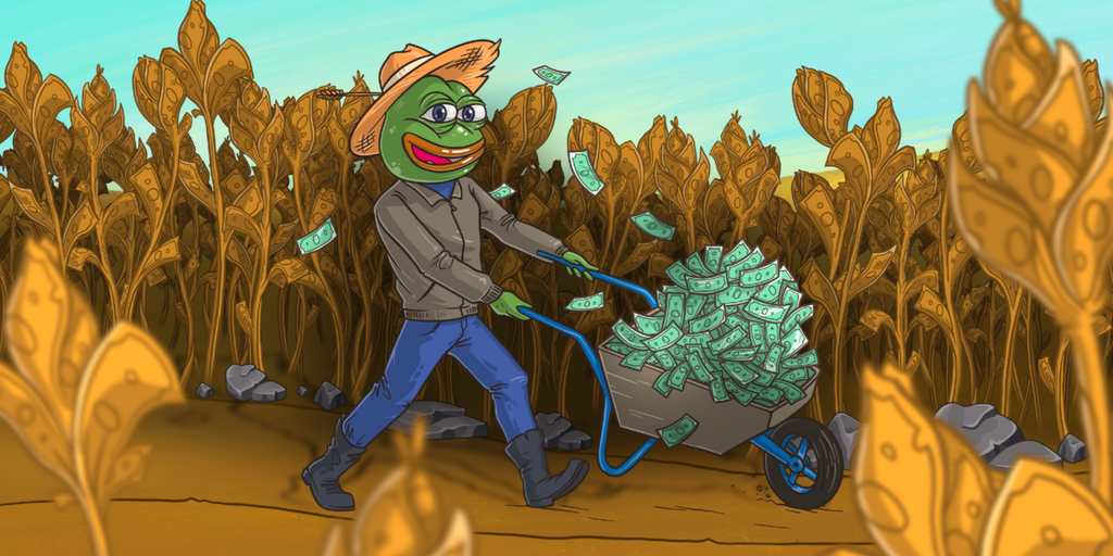 Ethereum Yield Farm Token Up 200% in Week After Coinbase Listing