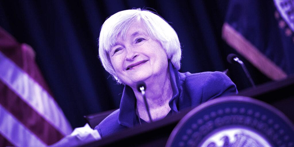 Janet Yellen to Assemble Regulators Over Stablecoin Concerns
