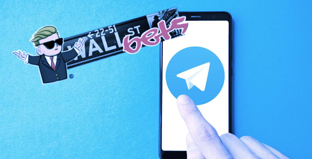 WallStreetBets Telegram Group Gets 40,000 Members in 24 Hours