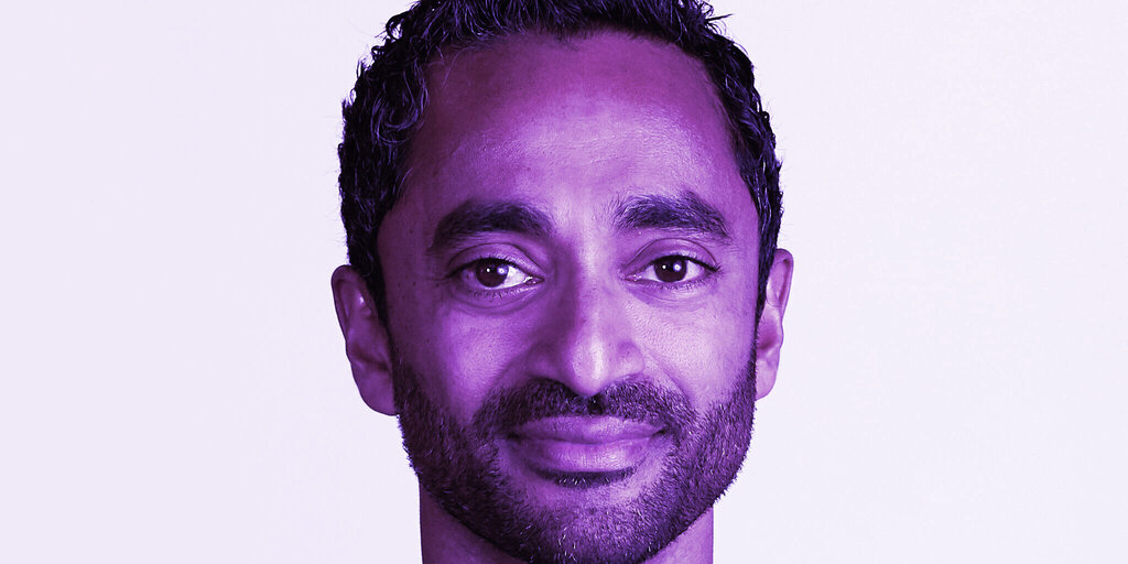 Bitcoin Booster Chamath Palihapitiya Backs Down From Cal. Governor Run